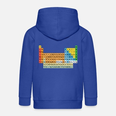 Periodic Table Periodic table of elements - Kids' Premium Zip Hoodie