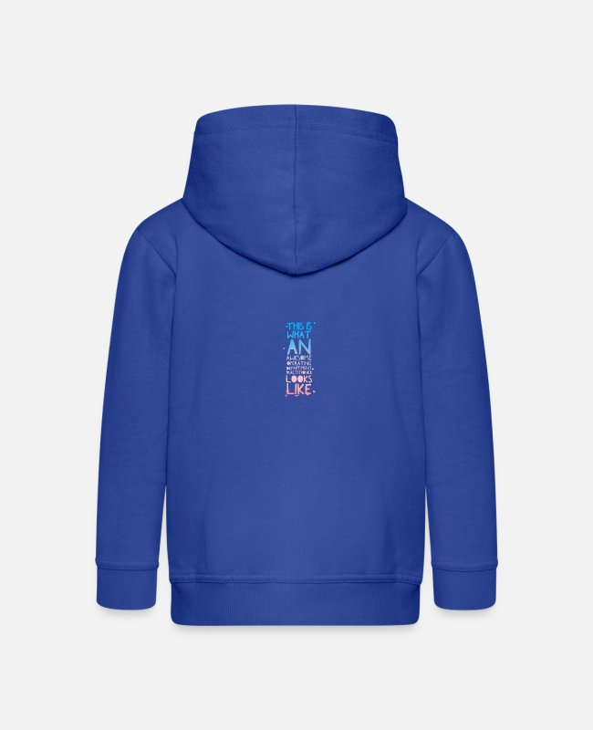 Operating Department Practice Hoodies & Sweatshirts - Awesome ODP 2 - Kids' Premium Zip Hoodie royal blue