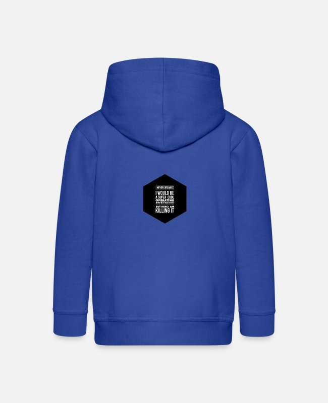 Operating Department Practice Hoodies & Sweatshirts - ODP dream - Kids' Premium Zip Hoodie royal blue