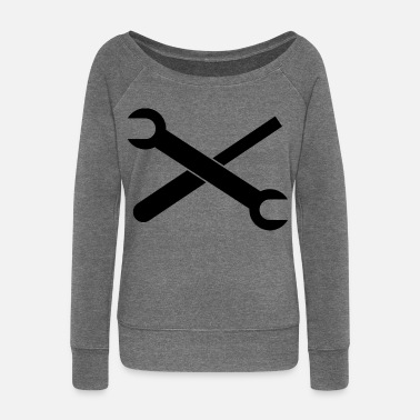 Tool tool - Women's Boat Neck Long Sleeve Top