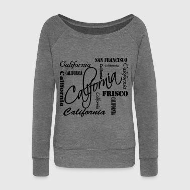 California - Women's Boat Neck Long Sleeve Top