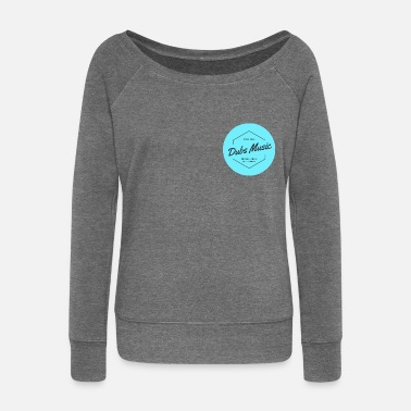 Dub Dubs Music - Collection - Women's Boat Neck Long Sleeve Top