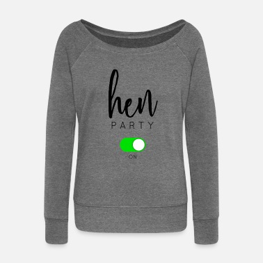 Hen Party HEN PARTY - Women's Boat Neck Long Sleeve Top