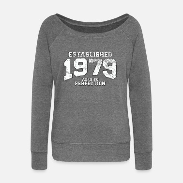 1979 established 1979 - aged to perfection (nl) - Vrouwen trui met U-hals van Bella