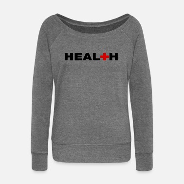 Health HEALTH - HEALTH - Women's Boat Neck Long Sleeve Top