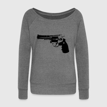 revolver - Women's Boat Neck Long Sleeve Top