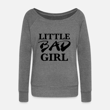 Bad Girls Little bad girl - Pull Femme col bateau de Bella