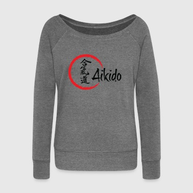 Aikido Aikido - Women's Boat Neck Long Sleeve Top