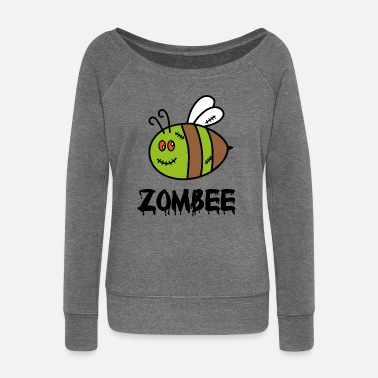 Zombee - Women's Boat Neck Long Sleeve Top