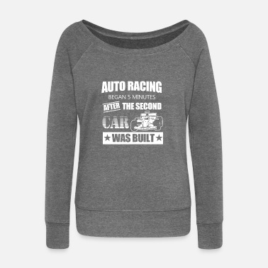 Car Racing Car Car F1 Racing Car Racing - Women's Wide-Neck Sweatshirt