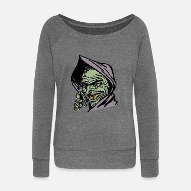 Goblin Goblin - Women's Wide-Neck Sweatshirt