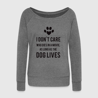 Dogs - Women's Boat Neck Long Sleeve Top