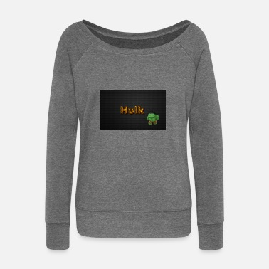 Hulk HULK - Women's Wide-Neck Sweatshirt