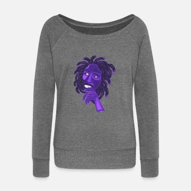 Illustration Finger Illustration - Frauen Pullover mit U-Ausschnitt