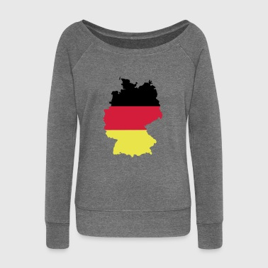 Germany 1 - Women's Boat Neck Long Sleeve Top