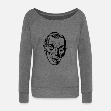 Dracula Dracula - Women's Wide-Neck Sweatshirt