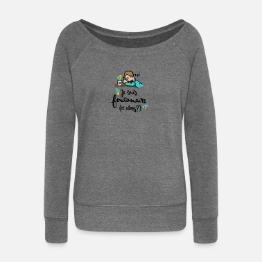 Official Person Official! - Women's Boat Neck Long Sleeve Top