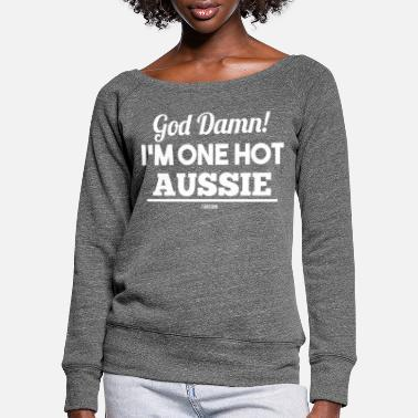 Marsupial Australia Marsupial Down Under Sydney - Women's Wide-Neck Sweatshirt