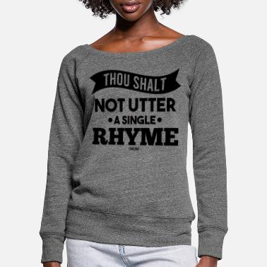 Norhymenorreasonday No Rhyme Nor Reason Day 01. September - Frauen Pullover mit U-Ausschnitt