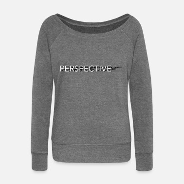 Perspective Perspective - Women's Wide-Neck Sweatshirt