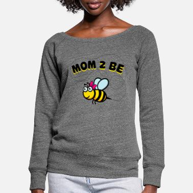 Mummy Partner look | Parents Mom Best Mom Mommy Mommy - Women's Wide-Neck Sweatshirt