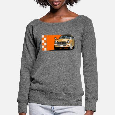 Car Classic car - Women's Wide-Neck Sweatshirt