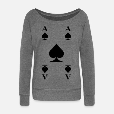 Card Cards - Women's Wide-Neck Sweatshirt