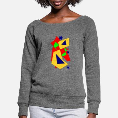 Form to form - Women's Wide-Neck Sweatshirt