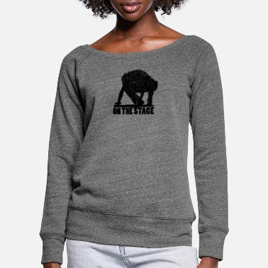 Stage ON THE STAGE - Women's Wide-Neck Sweatshirt
