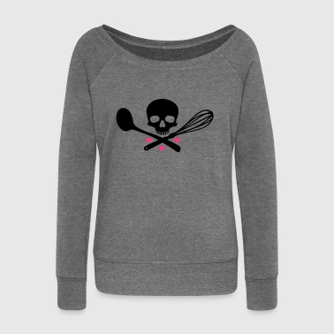 bakery of death - Women's Boat Neck Long Sleeve Top