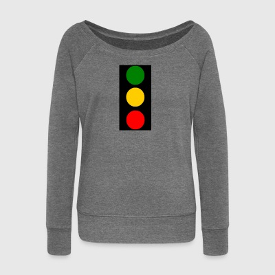traffic lights - Women's Boat Neck Long Sleeve Top