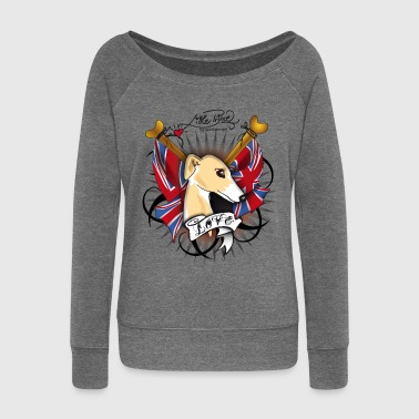 Whippet - Women's Boat Neck Long Sleeve Top