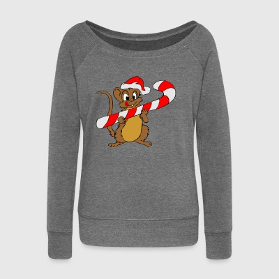 Santa Claus - Women's Boat Neck Long Sleeve Top