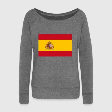 Spain - Women's Boat Neck Long Sleeve Top