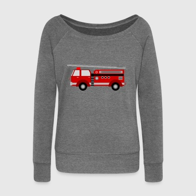 fire Department - Women's Boat Neck Long Sleeve Top