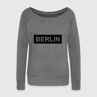 Berlin - Women's Boat Neck Long Sleeve Top