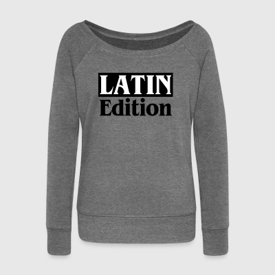 LATIN Edition - Women's Boat Neck Long Sleeve Top