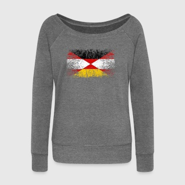 Germany Austria 001 - Women's Boat Neck Long Sleeve Top