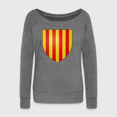 Catalonia - Women's Boat Neck Long Sleeve Top