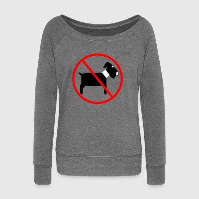 No dog - no dog - Women's Boat Neck Long Sleeve Top