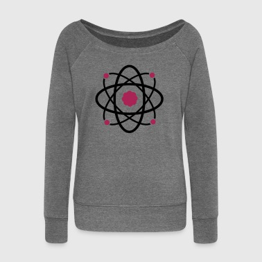 Atomic Molecular Science - Women's Boat Neck Long Sleeve Top