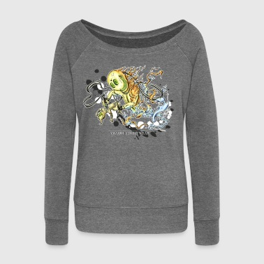 Tattoofreak - Women's Boat Neck Long Sleeve Top