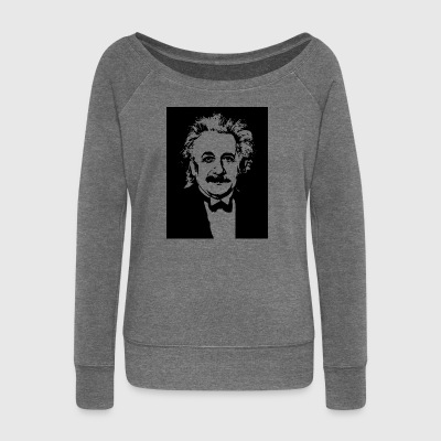 Albert Einstein - Women's Boat Neck Long Sleeve Top