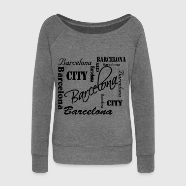Barcelona - Women's Boat Neck Long Sleeve Top