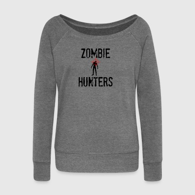 Zombie: Zombie Hunters - Women's Boat Neck Long Sleeve Top