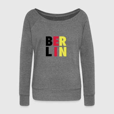 BERLIN001 - Women's Boat Neck Long Sleeve Top