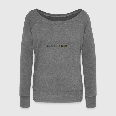 Rotterdam - Women's Boat Neck Long Sleeve Top