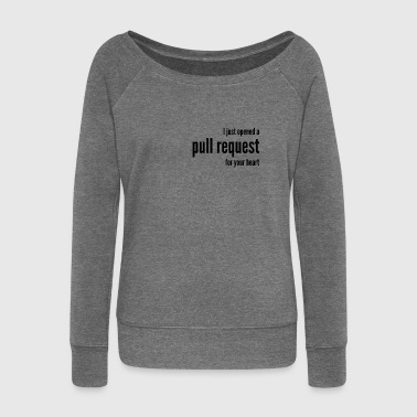 I just opened a pull request - Women's Boat Neck Long Sleeve Top