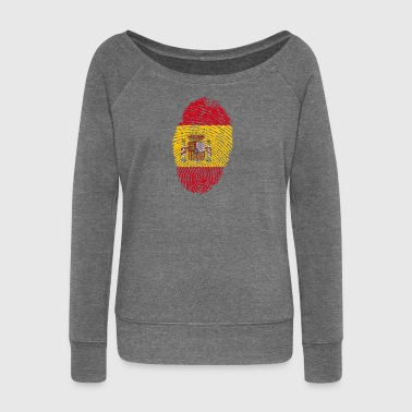 Spain ID - Women's Boat Neck Long Sleeve Top