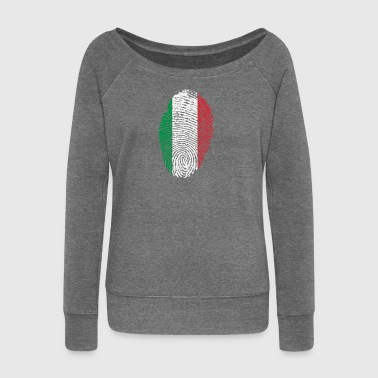 Italy ID - Women's Boat Neck Long Sleeve Top